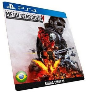 Metal Gear Solid V: The Definitive Experience Jogo Ps4 + Dlc Digital Orginal Playstation Store