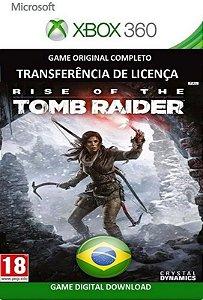 Rise Of The Tomb Raider Game Xbox 360 Mídia Digital Original