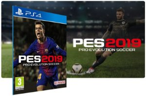 PES 2019 Pro Evolution Soccer Jogo Dublado PS4 Game Digital PSN Playstation Store