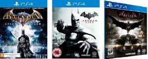 Batman Trilogia Arkham Jogo Ps4 Psn Digital Playstation Store