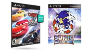 Carros 3 Correndo Para Vencer PS3 Game Digital PSN
