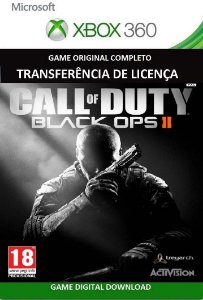 Call of Duty Black Ops ll Xbox 360 Jogo Mídia Digital Original