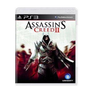 Assassins Creed 2 Jogo PS3 DVD Físico Game Novo
