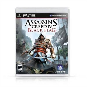 Assassins Creed IV : Black Flag Jogo PS3 DVD Físico Game Novo