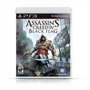 Assassins Creed IV : Black Flag Jogo PS3 DVD Físico Game Novo