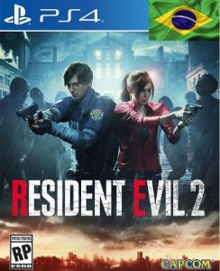 Resident Evil 2 Remake Jogo Ps4 Psn Digital Playstation Store