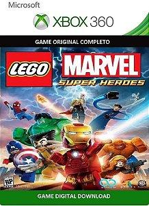 Lego Marvel Super Heroes Xbox 360 Game Digital Original Xbox Live