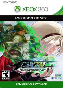 The King Of Fighters XIII Game Xbox 360 Jogo Digital Original Xbox Live
