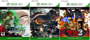 The King Of Fighters XIII + 2 Games Xbox 360 Jogo Digital Original Xbox Live