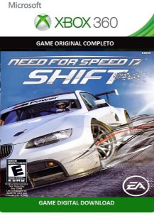 Need For Speed Shift Game Xbox 360 Jogo Digital Original Xbox Live