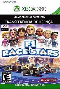 F1 Race Stars Xbox 360 Game Mídia Digital