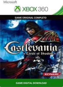Castlevania Lord of Shadow Xbox 360 Game Digital Original