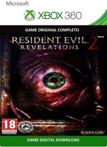 Resident Evil Revelations 2 Game Xbox 360 Jogo Digital Original Xbox Live