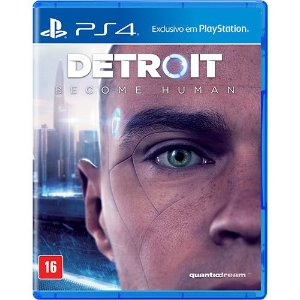 Detroit Become Human - Game PS4 DVD Físico
