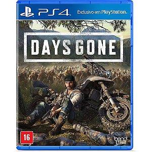 Days Gone - Game PS4 Dublado DVD Físico