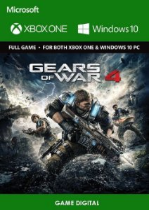 Gears of War 4 Game Digital Original Xbox ONE