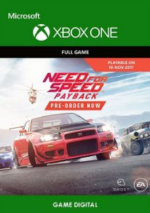 Need for Speed Payback Digital Original Xbox ONE