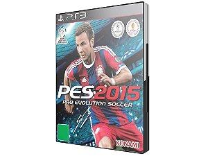Jogo PES 2015 Português pro Evolution Soccer - PS3 - Konami