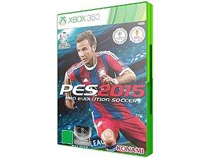 Game PES 2015 Português - Xbox 360