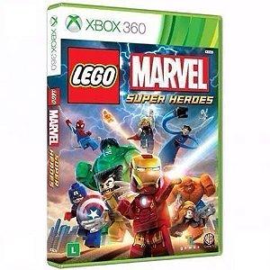 Jogo Lego Marvel Super Heróis - Xbox 360