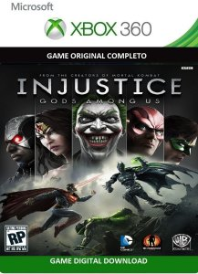 Injustice Gods Among Us Português Xbox 360 Game Original Digital Xbox Live