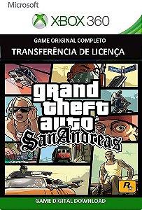 Gta San Andreas Game Xbox 360 Mídia Digital