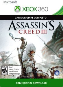 Assassin's Creed 3 Xbox 360 Game Digital Xbox Live