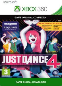 Just Dance 4 Xbox 360 Kinect Game Digital Xbox Live