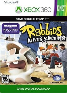 Raving Rabbids: A&K Xbox 360 Game Digital Xbox Live