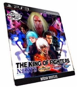 The king of Fighters Saga Nest 99 2000 2001 PS3 Game Digital PSN