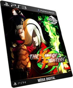 The king of Fighters 2003 PS3 Game Digital PSN
