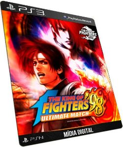 The king of Fighters 98 Ultimate Mach PS3 Game Digital PSN
