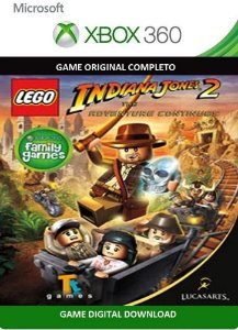 Lego Indiana Jones 2 Xbox 360 Game Digital Xbox Live