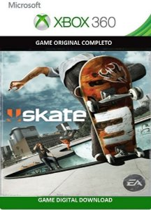 Skate 3 Game Xbox 360 Jogo Digital Original Xbox Live