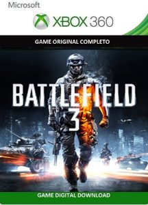 Battlefield 3 Xbox 360 Game Digital Original