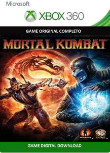 Mortal Kombat 9 Game Xbox 360 Jogo Digital Original Xbox Live