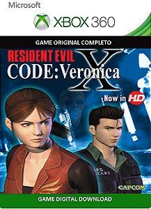 Resident Evil Code Verônica X Game Xbox 360 Digital Original