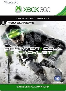 Tom Clancy's Splinter Cell Blacklist Xbox 360 Game Digital Original