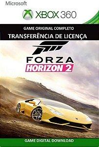 Forza Horizon 2 Game Xbox 360 Mídia Digital Original