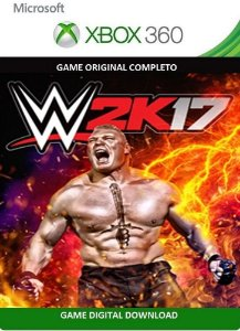 WWE 2k17 Xbox 360 Game Digital Original