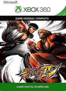 Street Fighter IV Xbox 360 Game Digital Original