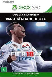 Fifa 18 Xbox 360 Game Digital Original