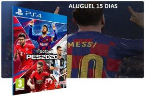 Game Aluguel eFootball PES 2020 Game PS4 Digital PSN