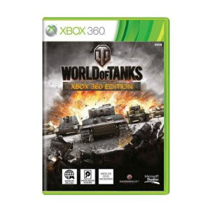 World of Tanks Game Xbox 360 DVD Lacrado