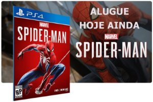 Game Aluguel Spider-Man Game PS4 Digital PSN