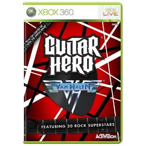 Guitar Hero: Van Halen Game Xbox 360 DVD Lacrado