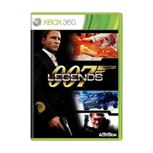 Jogo 007 Legends Game Xbox 360 DVD Lacrado