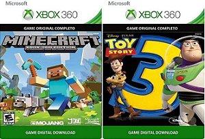 Minecraft + Toy Story 3 Game Xbox 360 Digital Original