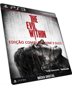 The Evil Within Edição Completa PS3 Game Digitaal PSSN Original
