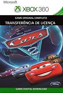 Carros 2 Xbox 360 Game Midia Digital Original